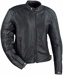 Mens Perforated Leather Jacket,