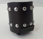 Studded Leather Bottle holder