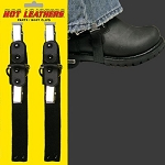 Plain Pants Bungee Biker Boot Stirrups