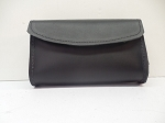 5 1/2 Inch Black Plain WindShield Bag