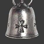Iron Cross Guardian Bell, 10 w/ Shipping