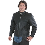 Mens Big & Tall Premium Buffalo Scooter Jacket, 0502.tl