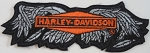 Harley Davidson Broken Wings Emblem Patch, HD120