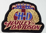 Harley Davidson Emblem Patch, HD143
