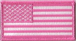 Pink American Flag, p424