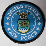 United States Air Force Patch, 12598
