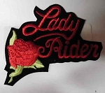 Lady Rider w/ Rose Patch, 39594N-RED