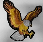 Upwinged Eagle Patch, A301