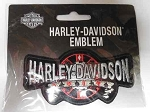 Harley-Davidson Poker Emblem Patch, HD63