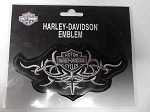 Harley-Davidson Grey Emblem Patch, HD115