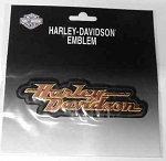 Harley-Davidson Emblem Patch, HD128
