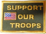 Support Our Troops Patch, M184