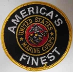 America's Finest Marine Corps Patch, p531