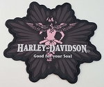 Harley Davidson Motor Angel Embroidered Patch, HD48