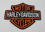 Harley Davidson Classic Bar & Sheild Embroidered Patch, HD50