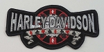 Harley Davidson Poker Chips Patch, HD63