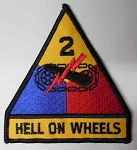 Hell On Wheels Patch, PM0130