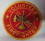 Volunteer Firefighter Patch, PM3951