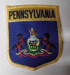 Pennsylvania Flag Patch, PM6939