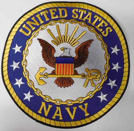 United States Navy Patch Pm9054