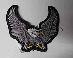 Silver Upwing Eagle Patch, p73
