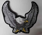 Silver Upwinged Eagle Patch, p82