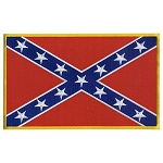 REBEL FLAG Embroidered Patch, p4 , p178