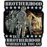 Brotherhood Wherever You Go Embroidered Patch, p101