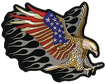 ATTACK EAGLE Embroidered Patch, p230