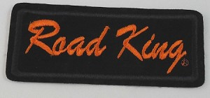 """Road King"" Embroidered Patch, HD131"
