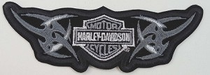 Harley Davidson Tribal Bar & Sheild Emblem Patch, HD136