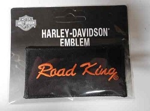 "Harley-Davidson ""Road King"" Emblem Patch, HD131"