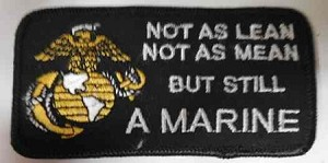 """Not As Lean"" Patch, M218"