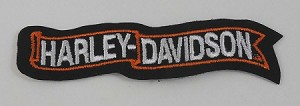 Harley Davidson Small Banner Patch, HD26