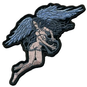 ANGEL Embroidered Patch/
