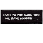 Come To The Dark Side Embroidered Patch, p258