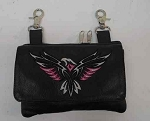 Hip Purse, Attaches to Belt Loops, Eagle Design