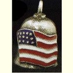 Color American Flag Guardian Bell, 48 w/ Shipping