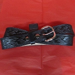 Belt Black Flame 1 1/2