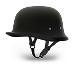 HELMET GERMAN- DULL BLACK, NOVELTY