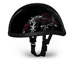 Helmet Eagle Barbed Red Roses Novelty