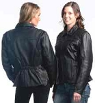 Ladies Leather Jacket, 6522