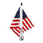 04-8720 Metric Mount(.25 ) & 6  x 9  U.S. Flag