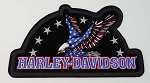 Harley Davidson American Eagle Embroidered Patch,  HD93