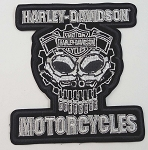 Harley Davidson Cognition Embroidered Patch, HD110