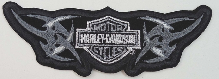 Harley Davidson Tribal Bar & Sheild Emblem Patch