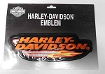 Harley-Davidson Orange Emblem Patch, EM233386
