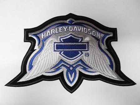 Harley-Davidson Wings Emblem Patch, HD138