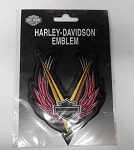 Harley-Davidson Wings Emblem Patch, HD123