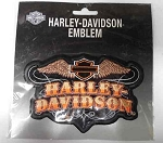 Harley-Davidson Wings Emblem Patch, HD125